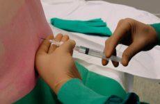 Проведение спинномозговой анестезии