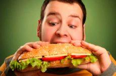 Вредность еды на ходу